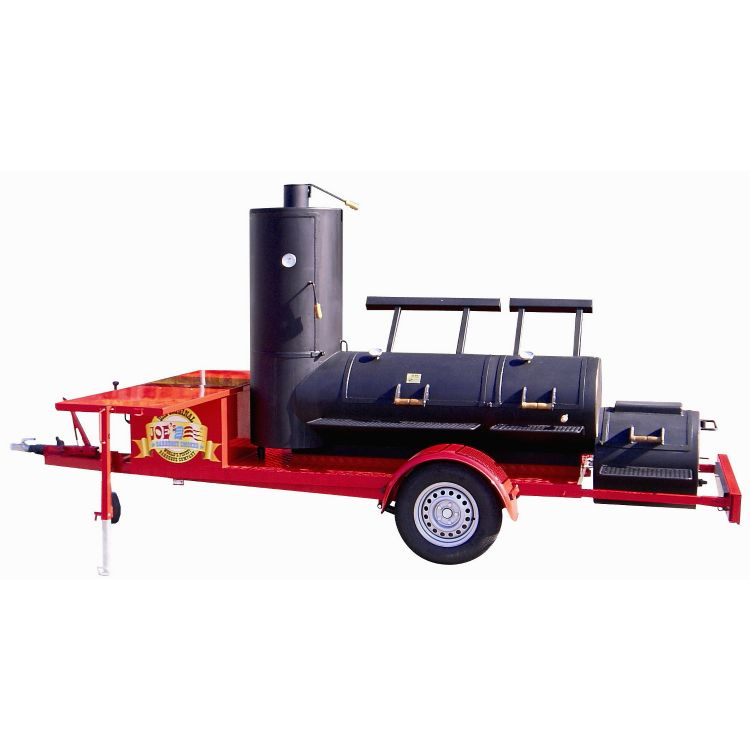 "JOE's BBQ SMOKER - 24"" Extended Catering Trailer"