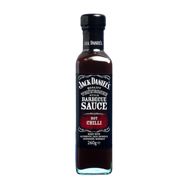 Jack Daniel's BBQ Sauce Hot Chilli, 220ml