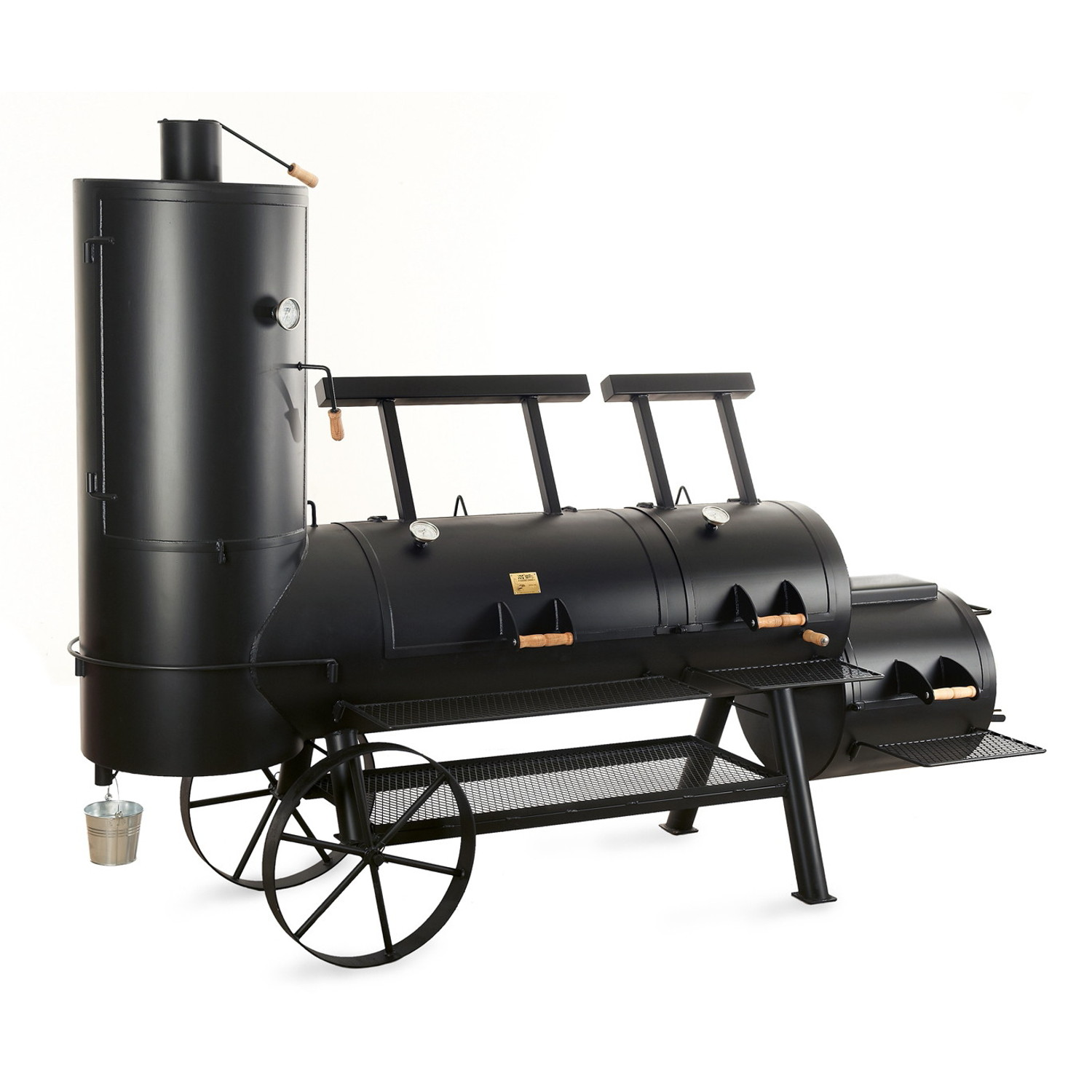 joe 39 s bbq smoker 24 extended catering smoker. Black Bedroom Furniture Sets. Home Design Ideas