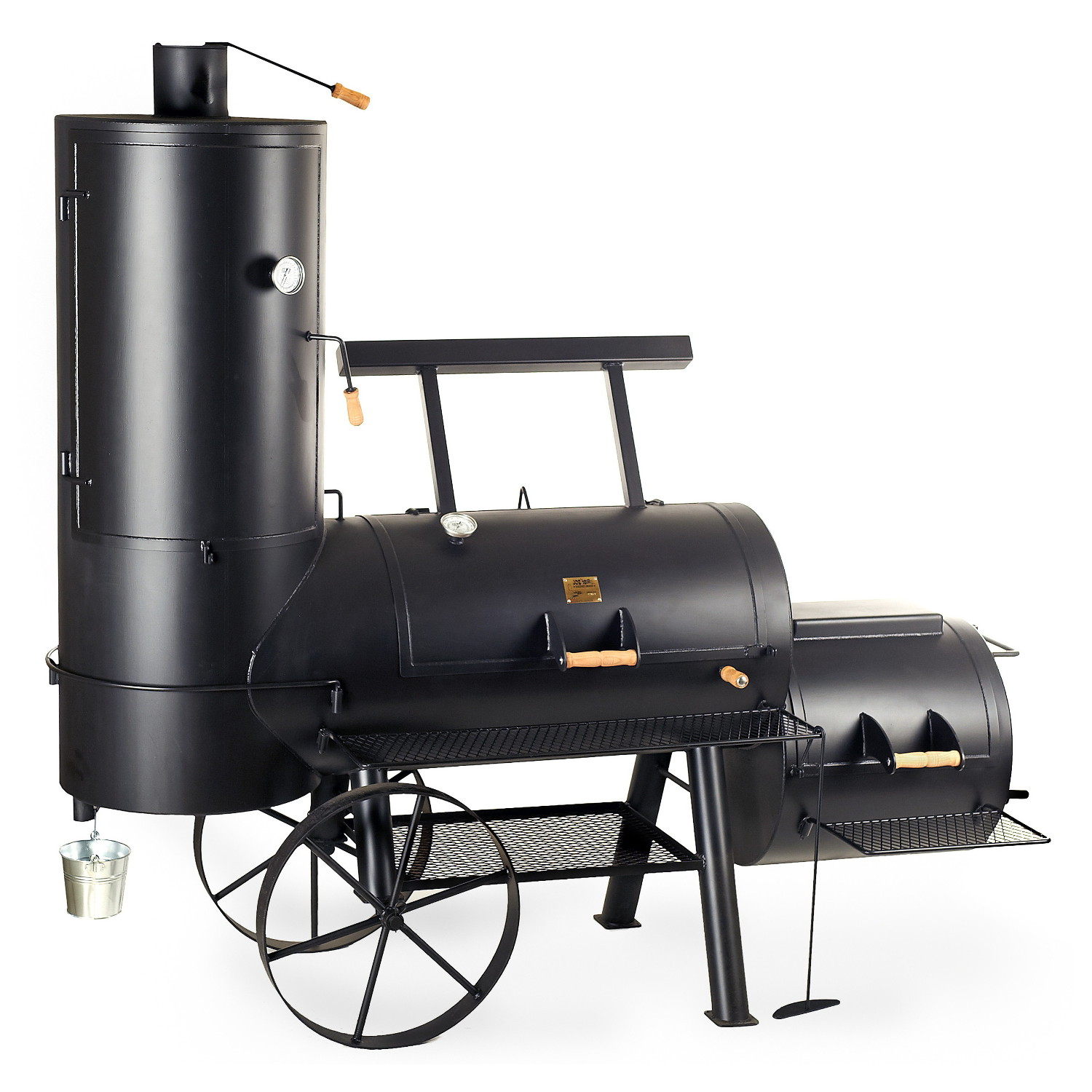 joe 39 s bbq smoker 24 chuckwagon catering lieferzeit anfragen online kaufen grilljack ch. Black Bedroom Furniture Sets. Home Design Ideas