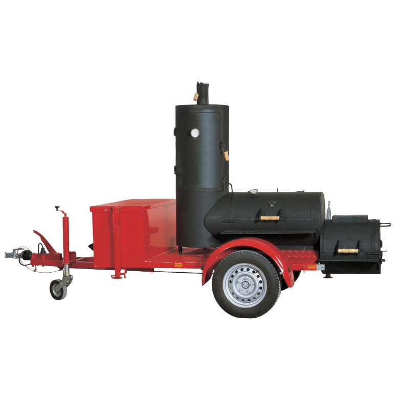 joe 39 s bbq smoker 20 chuckwagon catering trailer online kaufen grilljack ch. Black Bedroom Furniture Sets. Home Design Ideas