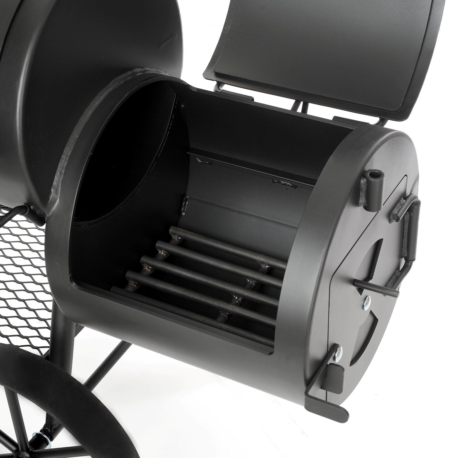 joe 39 s bbq smoker das original 16 wild west online kaufen grilljack ch. Black Bedroom Furniture Sets. Home Design Ideas