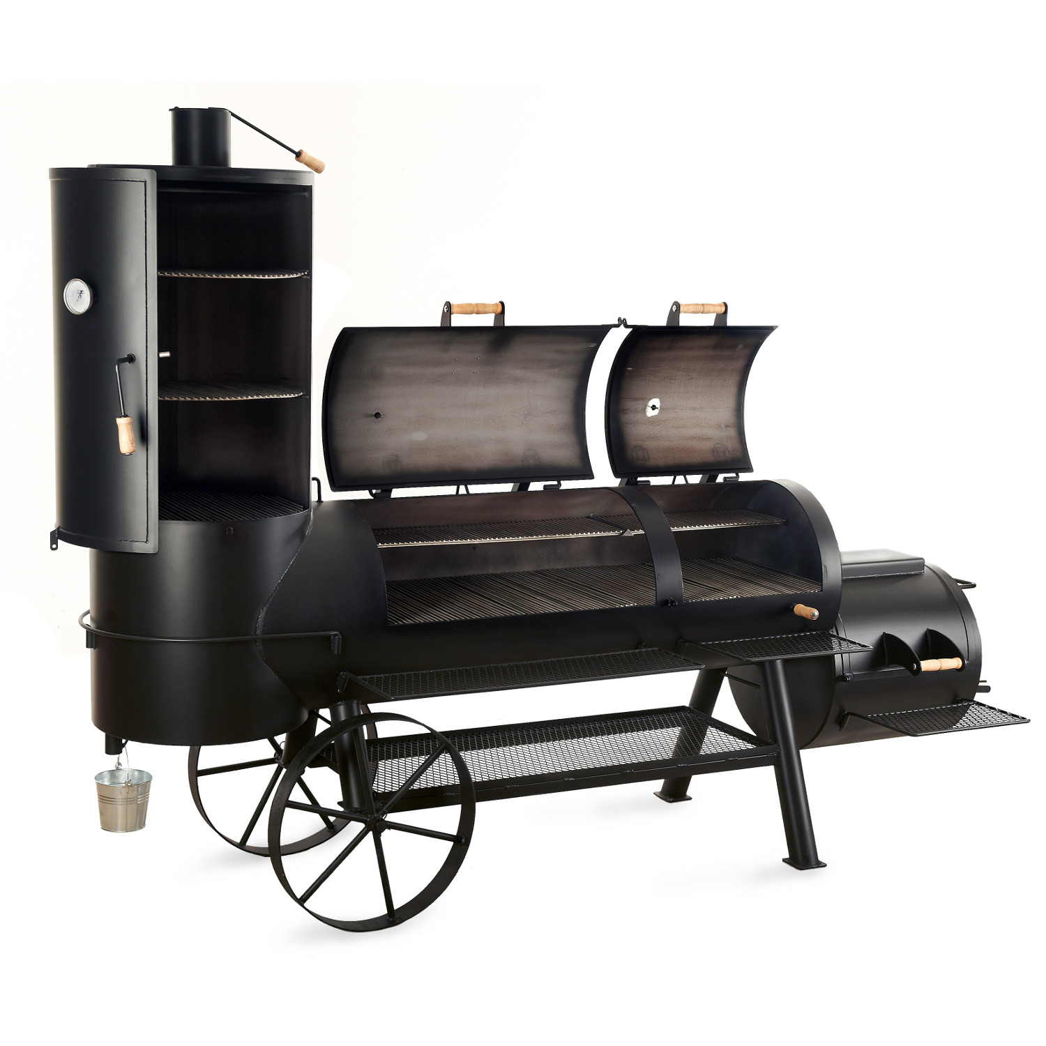joe 39 s bbq smoker 24 extended catering smoker lieferzeit anfragen online kaufen grilljack ch. Black Bedroom Furniture Sets. Home Design Ideas